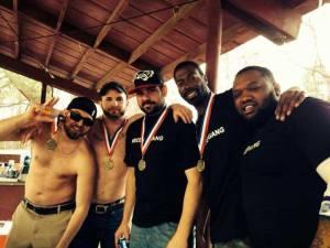 2014 Rockstar Beer Olympics Champions